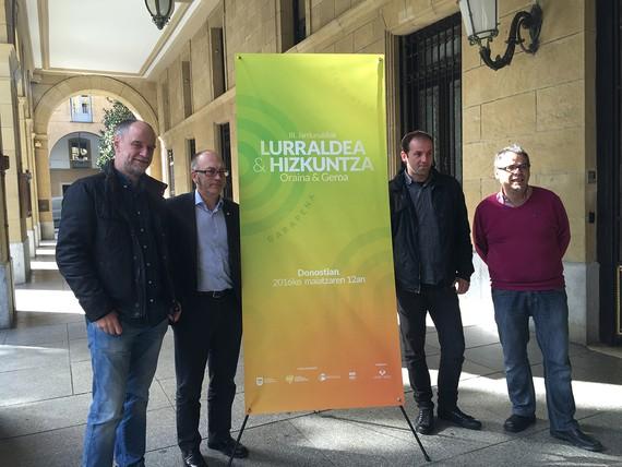 """""""Lurraldea eta Hizkuntza: Oraina & Geroa"""" jardunaldiak maiatzaren 12an"""