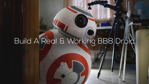 Nola egin etxean BB8 droide bat eta sakelekoarekin kontrolatu