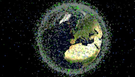 Keeptrack Space: gure planetako satelite artifizial guztien bilatzailea
