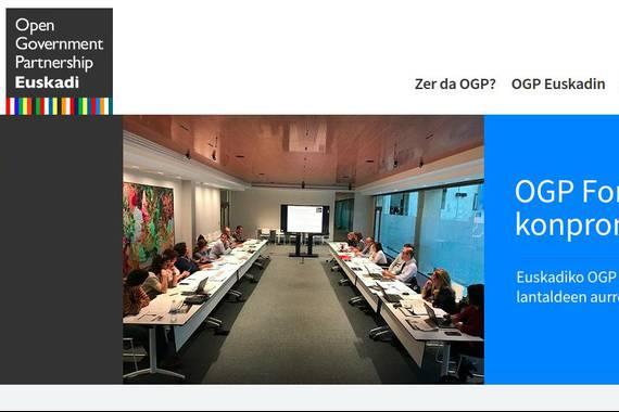 Gobernu irekirako proposamen bilketa, OGP 2021-2023 plana egiteko