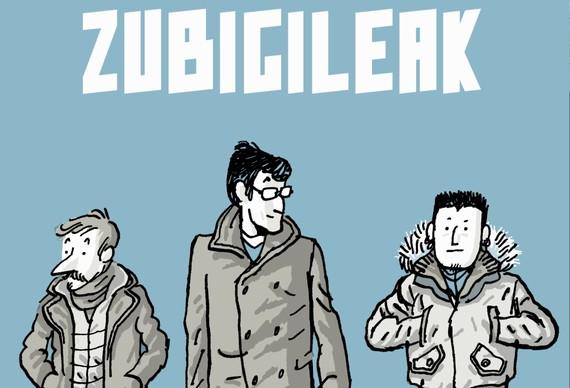 Zubigileak, Eduardo Madina eta Fermin Muguruza komiki batean