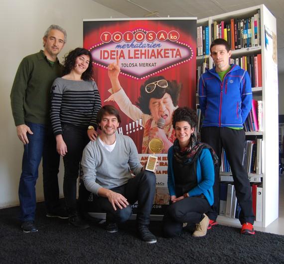 Adaki Komunikazioak Smile Festival saria irabazi du Tolosa Merkat proiektuarekin