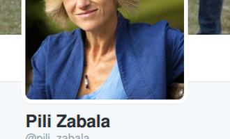 Pili Zabala Twitter profila