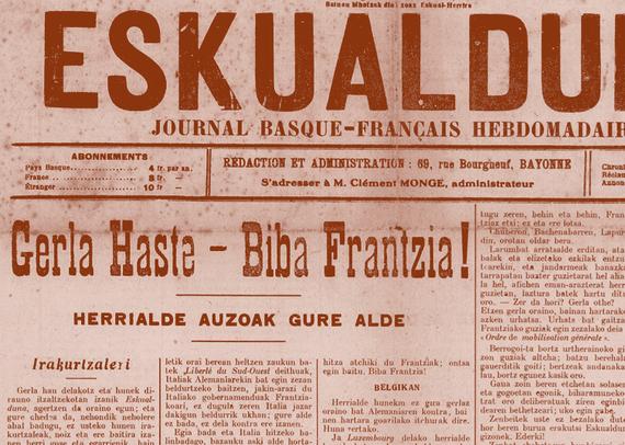Gerla Handiak 100 urte: 1. Mundu Gerrako euskal prentsako kronikak