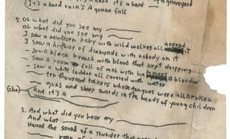 A Hard Rains Bob Dylan euskaraz