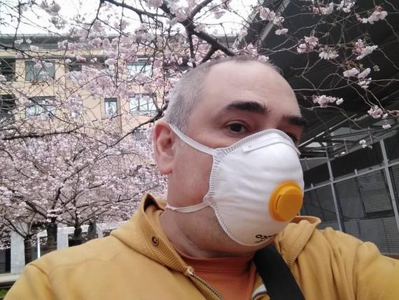 luistxo mask - Maskara jantzi dut