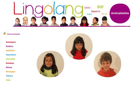 Lingolang, euskal ikastetxeetako hizkuntza aniztasuna