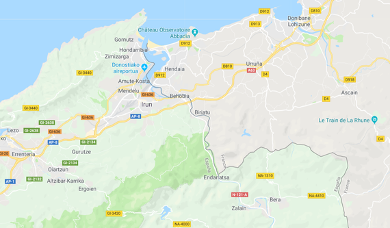 Distantzia: Euskal Herriko barne ezjakintasun geografikoa