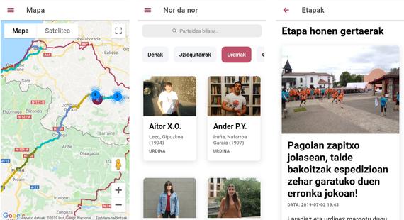 euskarabentura app