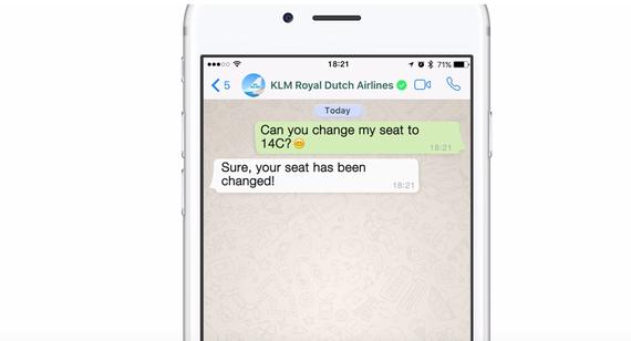 WhatsApp-ek zerbitzu berria iragarri du enpresentzat