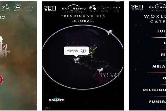 Earthling Project, 10.000 abesti espaziora