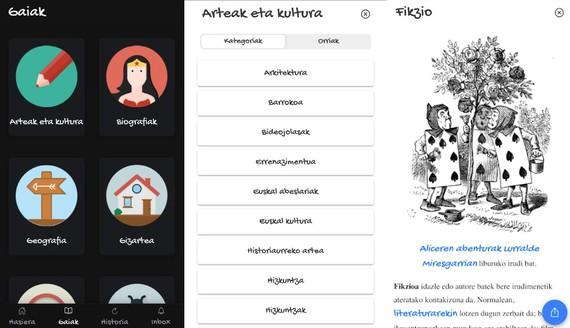 txikipedia app au