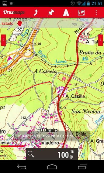 Mugikorretarako GPS OruxMaps aplikazioari buruzko ikastaroa