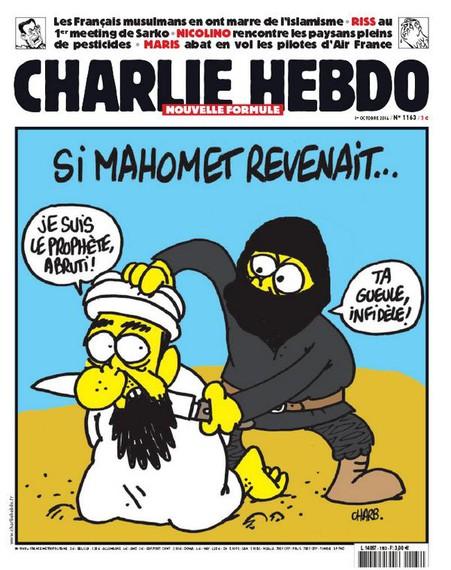 12 hildako Charlie Hebdo-ren aurkako erasoan, tartean Charb marrazkilaria, azal honen egilea