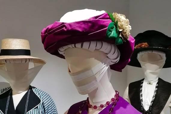 1918ko pandemiaren moda, Errenteriako Jantziaren Zentroan