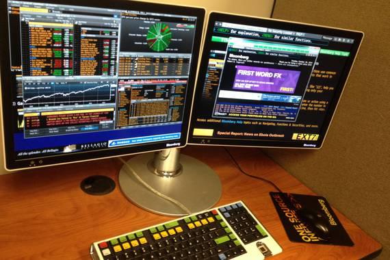 Bloomberg Terminalak: presidentegaiaren negozio informatiko handi baina ezezaguna