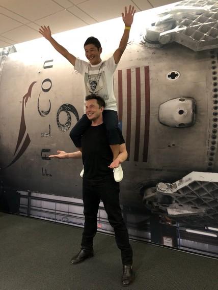 Musk eta Maezawa