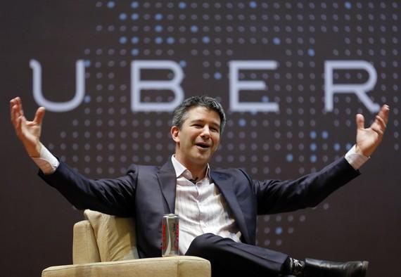 Zalaparta eta lemazain-aldaketa Uber-en