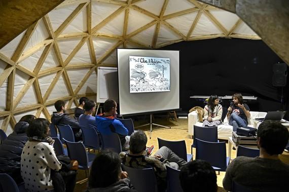 Kabia gune digitalaren egitaraua 2017ko Durangoko Azokan