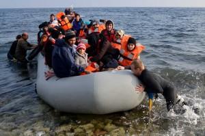 Mugarik gabeko itsasoa: Sorosle euskaldunak Lesbosen laguntzen