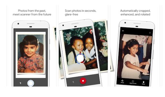 Googlek PhotoScan aurkeztu du, papereko argazkiak digitalizatzeko aplikazioa