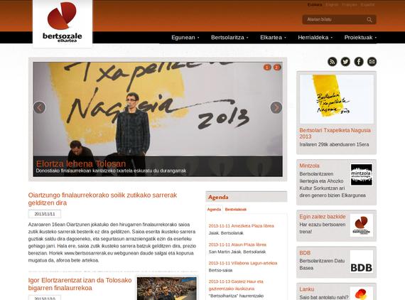 Bertsozale.com webgune berritua (eta #btn13 txapelketakoa ere bai, bide batez)