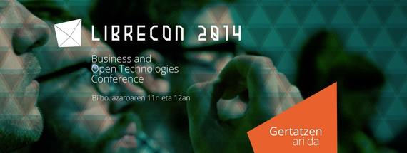 Gaur eta bihar #Librecon2014 kongresua Bilbon, Software eta jakintza libreaz
