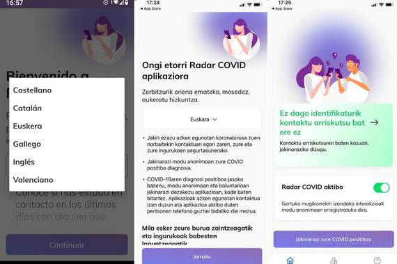 Covid-19: Immunitate karneta edo aplikazioa
