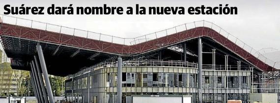 El Correok iragarri eta alkateak baieztatu: Adolfo Suarez, Gasteizko autobus geltokiaren izena