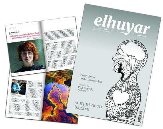 Kalean da Elhuyar aldizkaria, formatu eta diseinu berriekin