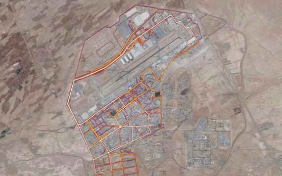 Afganistango sekretu militarrak agerian, soldaduek Strava aplikazioa erabiltzen zutelako