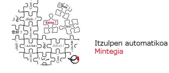 Mintegia: Itzulpen automatikoa euskaraz
