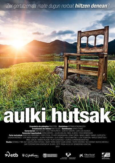 'Aulki hutsak' dokumentala, bizidunok heriotzarekin hobeto bizikidetzeko