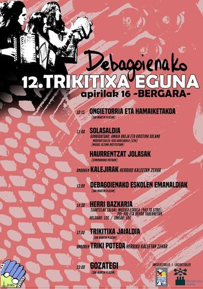 Berrituta dator Debagoieneko trikitixa eguna 2016