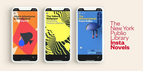 Liburuak Instagramen argitaratuko ditu atalka New Yorkeko liburutegiak, gazteak literaturara erakartzeko asmoarekin