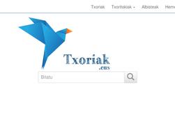 Txoriak.eus, Euskal Herriko txoriak