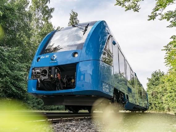 Hidrogeno trena martxan Alemaniako trenbideetan