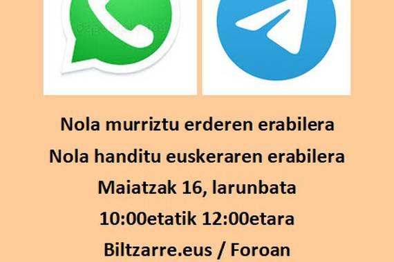 Whatsapp-Telegram erdaraz?