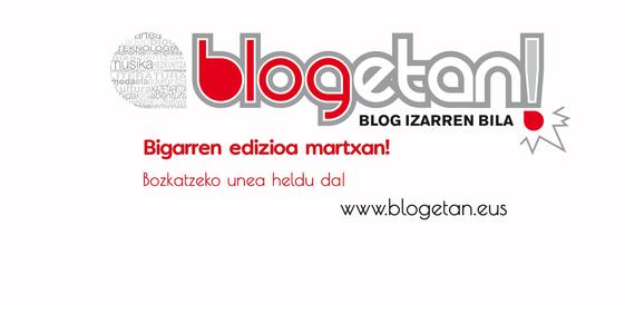 Blogetan! Euskal Blogariak lehian 2.edizioko blog finalistak!