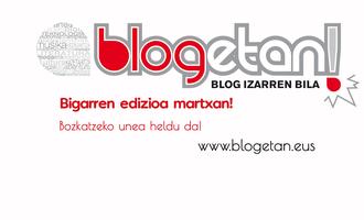 Blogetan sariketa 2017
