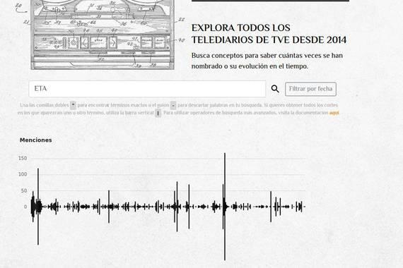 Espainiako Telediarioen edukietan bilatu