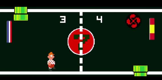 Pacman, Arkanoid, Pong eta Mario euskaldunduak, bideoklip batean