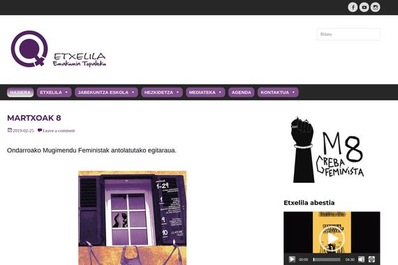 Etxelila.eus, Kaixo Mundua webguneen lehiaketan irabazle