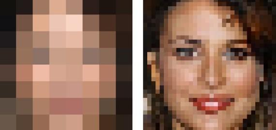 Irudi erabat pixelatua ulertu eta berreraikitzeko gai da Google (CSI estilora)