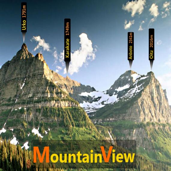 MountainView aplikazioa, mendizaleentzat egina