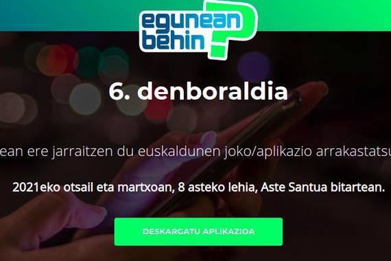 Astelehenean (otsailak 1) hasiko da Egunean Behin jokoaren denboraldi berria