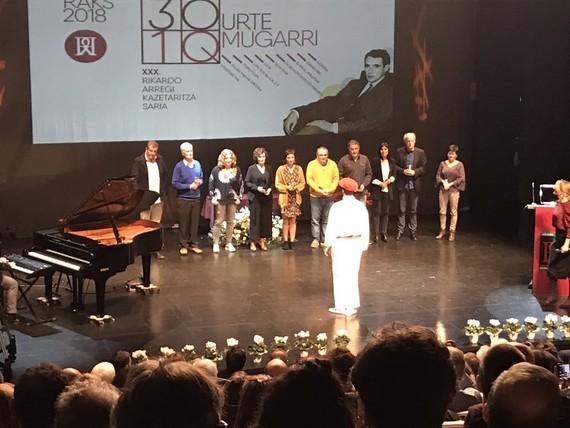 Rikardo Arregi sarietan 10 mugarri saritu dituzte, tartean Eibar.org elkartea