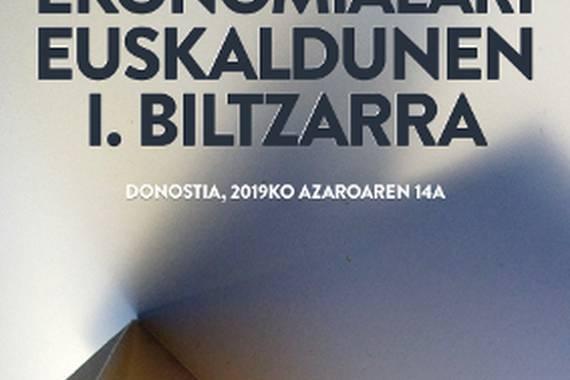 Ekonomialari Euskaldunen I. Biltzarra: sarea sortzea helburu