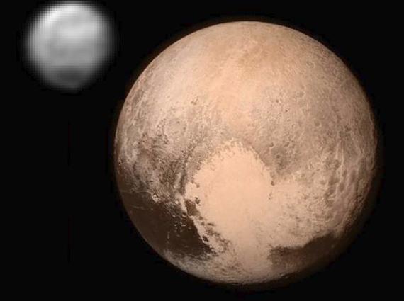 New Horizons zundaren irudiak eta informazioa Plutondik