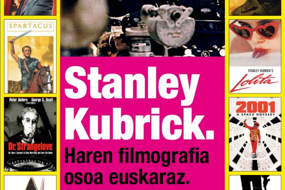 Kubrick proiektua: filmografia oso bat euskaratua